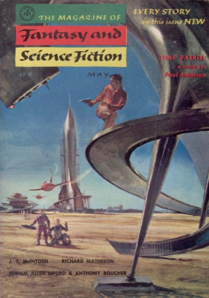 The Magazine of Fantasy and Science Fiction, May 1955