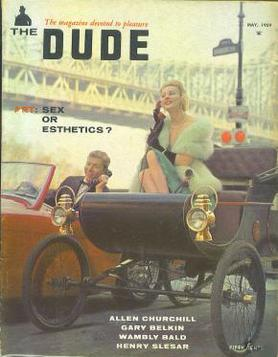 issue of The Dude (volume 3, Number 5), May 1959