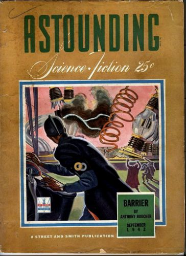 Astounding Science Fiction, Sep 1942
