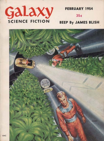 Galaxy Science Fiction, Feb 1954