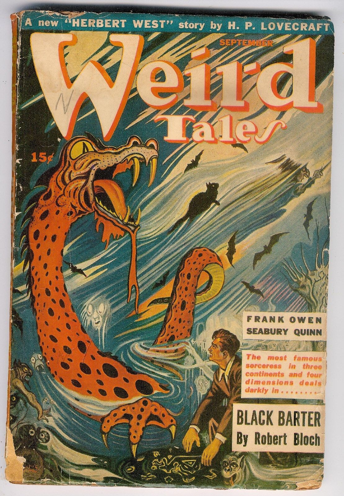 Weird Tales, September 1943