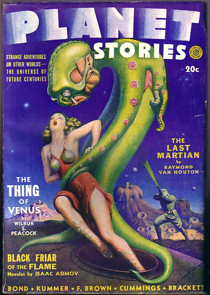 Planet Stories, Spring 1942