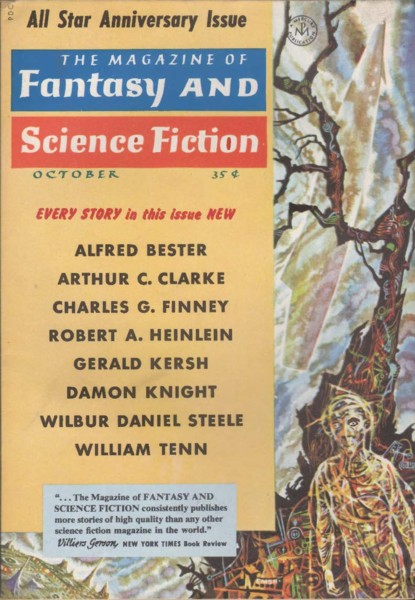 The Magazine of Fantasy and Science Fiction, Oct 1958