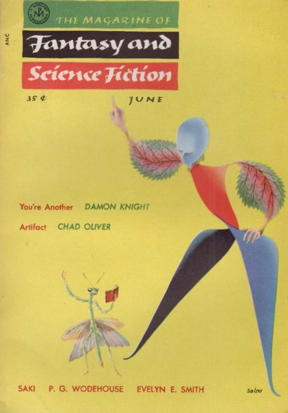 The Magazine of Fantasy and Science Fiction, June 1955