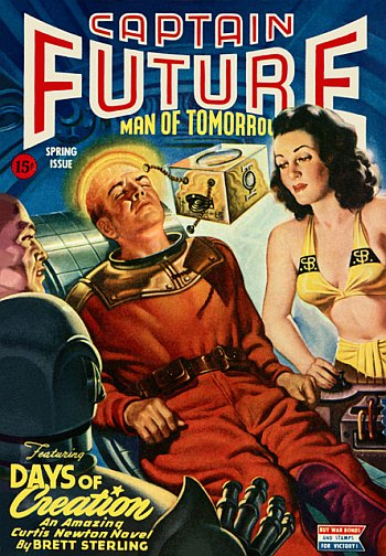 Captain Future, Spring 1944