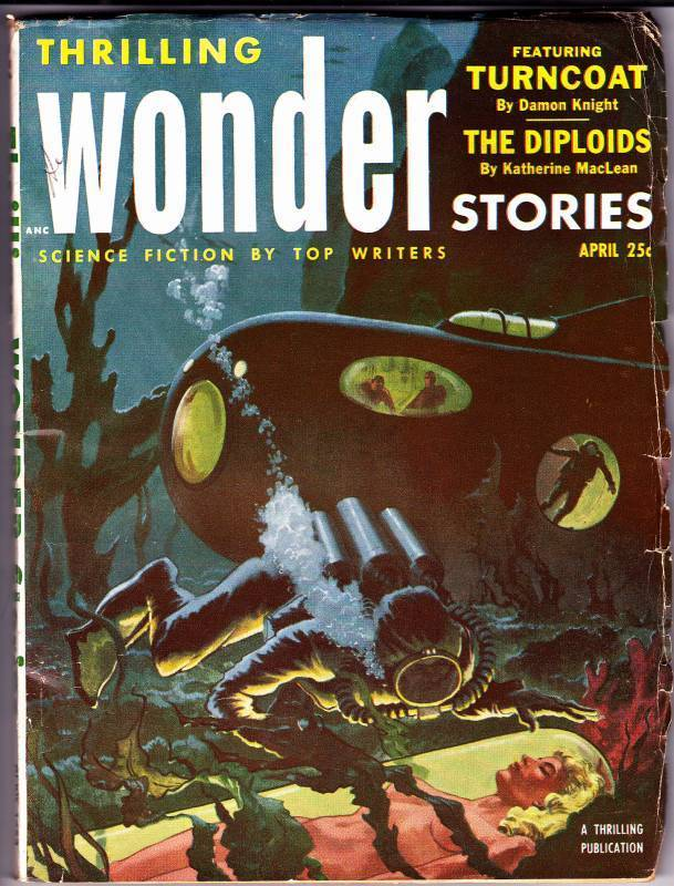 Thrilling Wonder Stories, April 1953