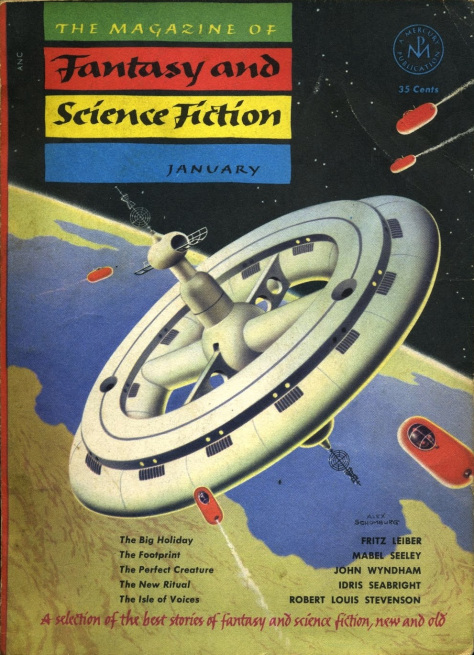 The Magazine of Fantasy and Science Fiction, January 1953