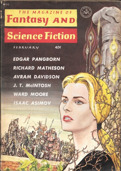 The Magazine of Fantasy and Science Fiction, February 1962