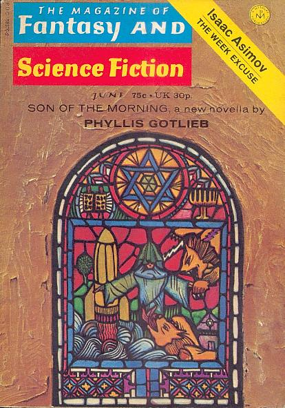 The Magazine of Fantasy and Science Fiction, June 1972