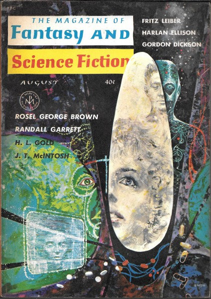 The Magazine of Fantasy and Science Fiction, August 1962