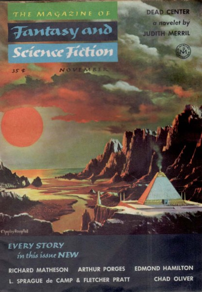 The Magazine of Fantasy and Science Fiction, November 1954